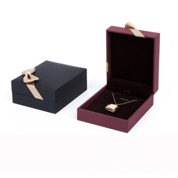 Custom Luxury Card Ring Halsband Smycken Paper Box