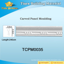 Delicate styles decorative polyurethane wall molding for home design
