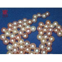 7-8mm runde Süßwasser lose Perlen