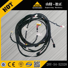 Excavator parts PC400-7 wire harness 20Y-54-52320