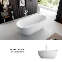 CUPC Certificate Bathrooms Soaking Modern Bathtub Oval Freestanding Acrylic Air Massage Tub