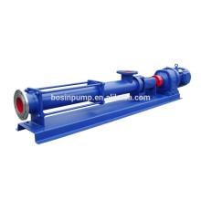 Factory single screw maritime sewage cutter screw pump