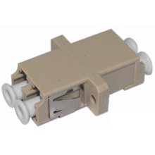 LC Fiber Optic Adapter with Flange