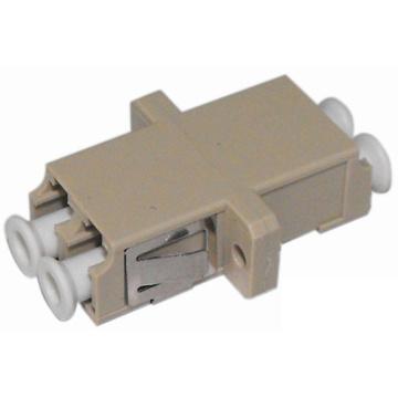 Adaptador de fibra óptica LC con brida