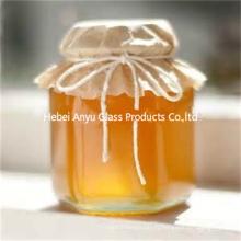 Vente en gros petit pot de verre bon marché pour confiture / pot de verre au miel