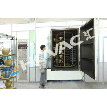 Ceramic/Porcelain PVD Colorful Coating Equipment/Ceramic Gold/Silver Vacuum Metalizing Machine