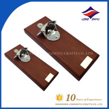 Perfect bottle opener seller supply wooden bottle opener with factory price