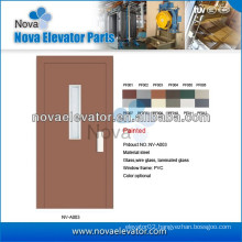 Villa Elevator Semi-automatic Door, Glass Elevator Swing Door