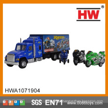 Caminhão caminhão com motocicletas
