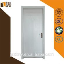 Top sale solid wood swing veneered wooden veneer interior wooden door