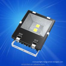 Day/night sensor CE/RoHS/FCC best price 145lm--165lm/w rgb 10w led flood light