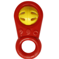 Baby Toy Safety Hand Ring Sacudiendo la campana
