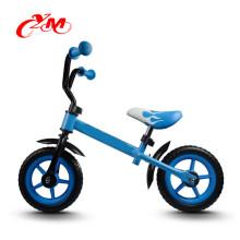 Hohe Qualität kein Pedal Blau Kinder Fahrrad Balance Fahrrad / Leichtgewicht Mini Fahrrad für Kinder / CE 12 Zoll Fahrrad für Kleinkind