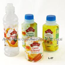 Étiquette rétractable en PVC pour les bouteilles