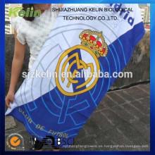 toalla de playa promocional del club de fútbol del algodón de la impresión reactiva