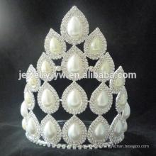 Coronas y tiaras de la princesa de la venta del rhinestone