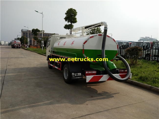 Feces Suction Tank Trucks