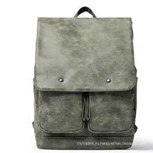 Высокое качество открытый кожаный путешествия сумка рюкзак для продажи