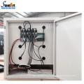 Standalone design metal locker cabinet frame mobile phone charging station