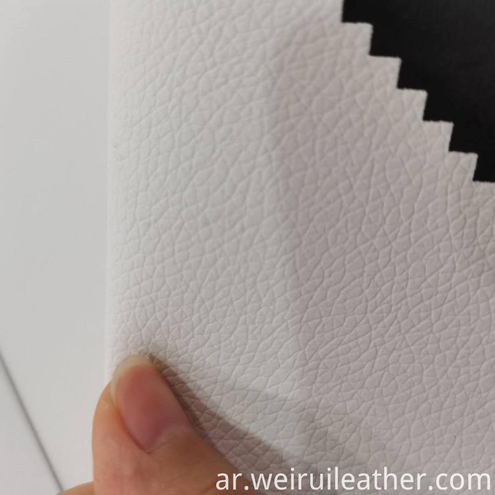 0 65mm Lychee Lines Pvc Leather