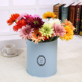 Cylindrical Flower Gift Box with Handle