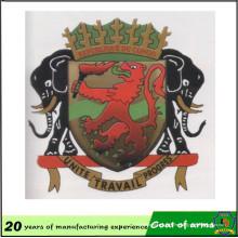 Fábrica china Custom Congo Emblema nacional