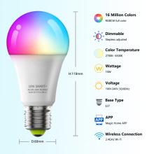 Lâmpada led inteligente wi-fi E27