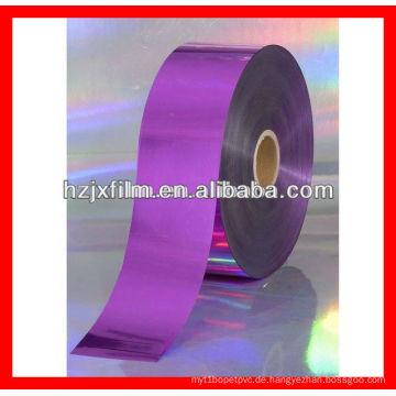 Pfannkuchen metallisierte Polyesterfolie