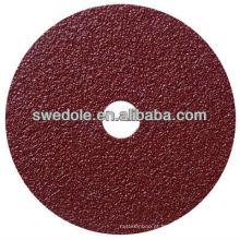 3M disco de fibra abrasiva para ferramentas de polimento de aço e metal com alta qualidade e bom preço