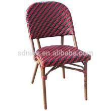 DC- (150) Rattan de mimbre moderna comedor silla / silla de bambú de colores