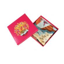 Индивидуальная коробка для складывания бумаги для шарфа, макияжа, подарка, пояса
