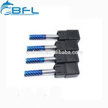Tungstênio Carbide Cobalt 6 Flute Finishing Endmill Ferramenta de fresagem