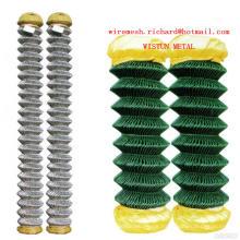 Hot Galvanized Diamond Wire Mesh PVC Coated Diamond Wire Mesh