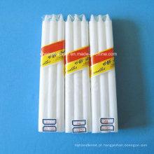 Embalagem do saco do psiquiatra que veste as velas brancas do agregado familiar