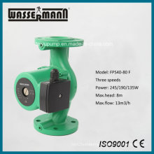 Variable Speed Small Pressure Circulation Pumps with Flange Ports