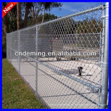 Inclinação de Metal Chain Link Wire Mesh Fence