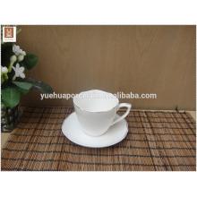 Personalizado copo de cerâmica logotipo com colher por atacado para publicidade brindes promocionais