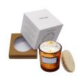 Caja de velas de candelita de regalo cuadrada personalizada