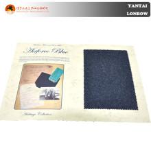 tecido de cashmere de lã pesada penteada para sobretudo de inverno