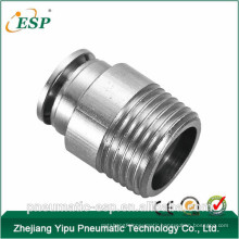 pneumatic metal male pipe fittings
