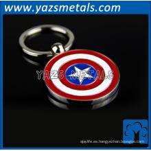 moneda de encargo promocional del metal llaveros personalizados