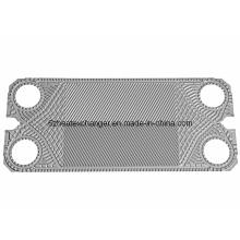 Placa de piezas de repuesto de componentes del intercambiador de calor (iguales a los modelos ALFALAVAL)
