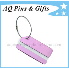 Aluminum Tags with Wirerope for Baggage