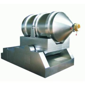 Two-Dimensional Powder Mixer for Mixing Large Volume Solid Materials