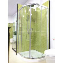 AS/NZS2208 Austalian Standard Tempered Glass Walk in Simple Shower Room with Tray (H002)
