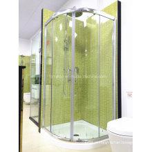 AS / NZS2208 Austalian Passeio de vidro temperado padrão no quarto de chuveiro simples com bandeja (H002)