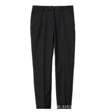 Damen 100% Polyester Black Pants