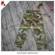 Newest design for kids boys camouflage pants