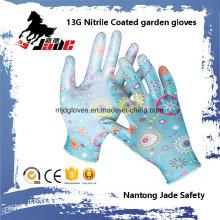 Gant de sécurité en coton nitrile 13G
