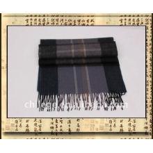 Men cashmere scarf shawl stoles /men wool checked scarf pashmina shawls